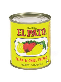 Picture of Hot Tomato Sauce - El Pato Salsa de Chile Fresco - 7.75 oz.&nbsp;- Item No.&nbsp;1276