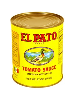 Picture of El Pato Hot Tomato Sauce 27 oz. - Item No. 1279