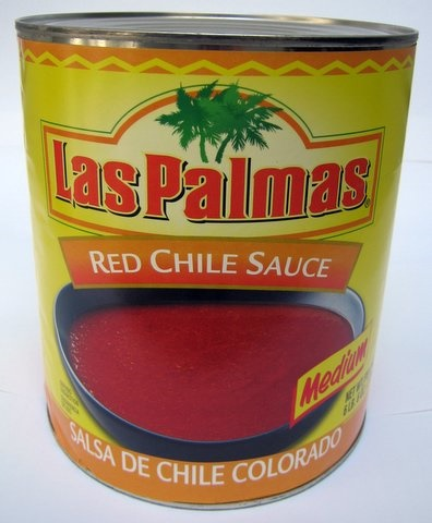 Picture of Las Palmas Red Chili Sauce - Medium #10 - Item No. 1288