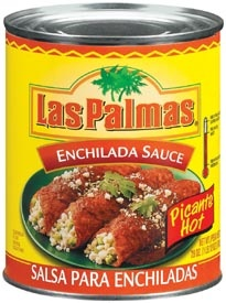 Picture of Enchilada Sauce Hot by Las Palmas 28 OZ&nbsp;- Item No.&nbsp;1296