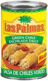Picture of Las Palmas Medium Green Chile Sauce 10 oz - Item No. 1297