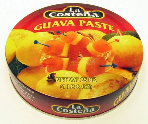 Picture of La Costena Guava Paste - Ate de Guayaba 25 oz - Item No. 1300