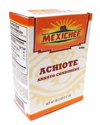 Picture of Achiote - MexiChef Achiote Paste 1.16 lb. - Item No. 13000