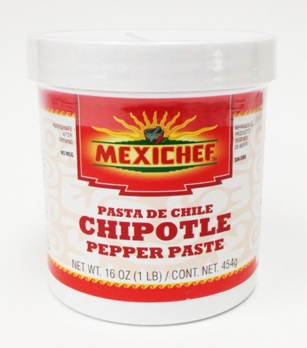 Picture of Chipotle - MexiChef Chipotle Pepper Paste 1 lb. - Item No. 13003