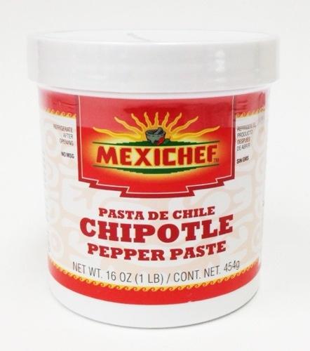Picture of Chipotle - MexiChef Chipotle Pepper Paste 1 lb.- Item No.13003