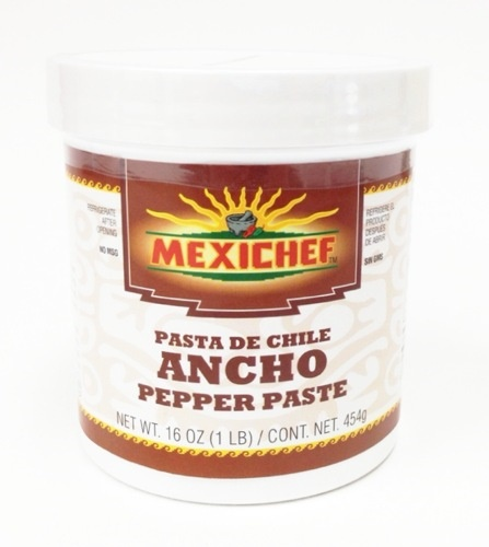 Picture of Chile Ancho - MexiChef Ancho Pepper Paste 1 lb. - Item No. 13004