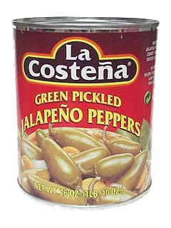Picture of Jalapenos - La Costena Whole Jalapeno Peppers 26 oz.&nbsp;- Item No.&nbsp;1311