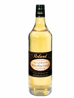 Picture of Wine Vinegar - Roland Special Reserve White Wine Vinegar - 33.8 oz&nbsp;- Item No.&nbsp;13201