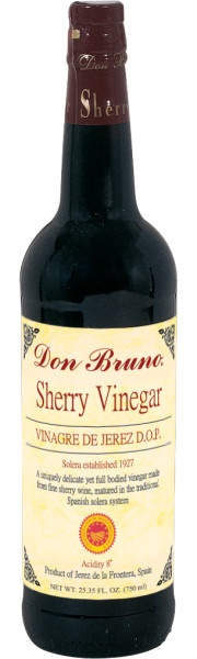 Picture of Sherry Vinegar - Don Bruno Aged Sherry Wine Vinegar - 25.4 oz&nbsp;- Item No.&nbsp;13203