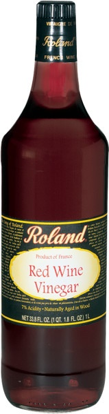 Picture of Red Wine Vinegar - Roland French Aged Red Wine Vinegar - 33.8 oz&nbsp;- Item No.&nbsp;13204