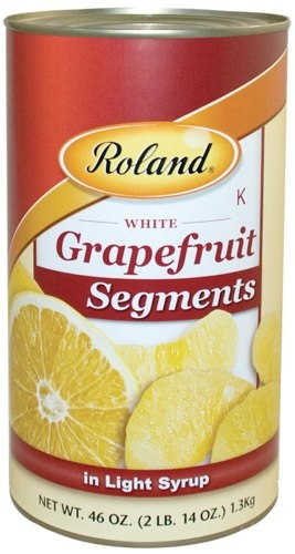 Picture of Grapefruit - Roland Grapefruit Segments - 46 oz - Item No. 13219