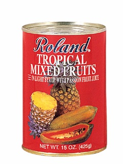 Picture of Tropical Fruits - Roland Tropical Mixed Fruits - 15 oz&nbsp;- Item No.&nbsp;13224