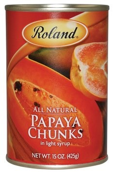 Picture of Papaya - Roland Papaya Chunks - 15 oz&nbsp;- Item No.&nbsp;13225