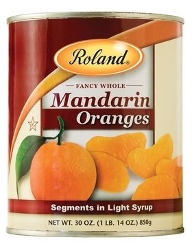 Picture of Mandarin - Roland Whole Mandarin Orange Segments - 30 oz&nbsp;- Item No.&nbsp;13226