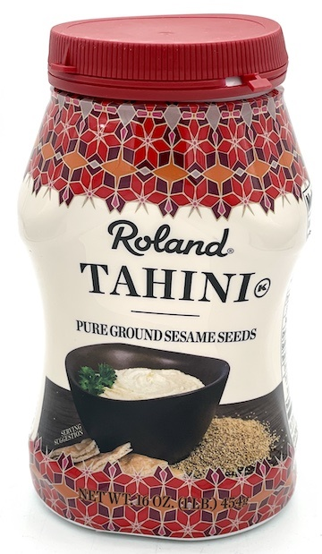 Picture of Tahini - Roland Tahini Pure Ground Sesame Seed - 16 oz - Item No. 13228