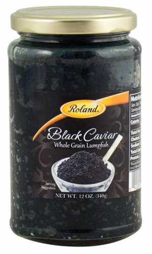 Picture of Caviar - Roland Black Lumpfish Caviar - 12 oz&nbsp;- Item No.&nbsp;13232