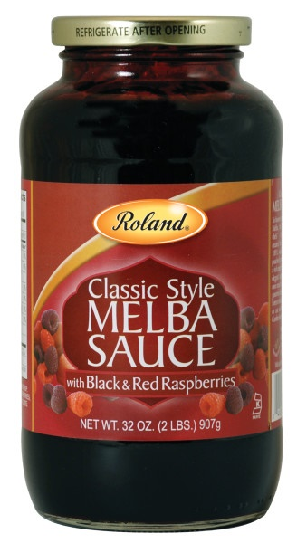 Picture of Melba - Roland Melba Sauce - 32 oz - Item No. 13233