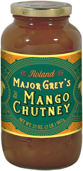 Picture of Mango Chutney - Roland Major Grey Mango Chutney - 32 oz - Item No. 13234
