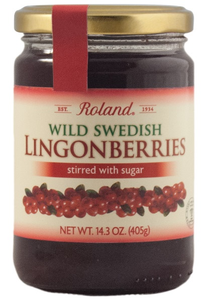 Picture of Lingonberry Jam - Roland Wild Swedish Lingonberries - 14 oz - Item No. 13241