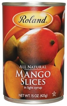 Picture of Mango - Roland Sliced Mangos - 15 oz&nbsp;- Item No.&nbsp;13244