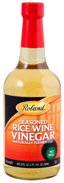 Picture of Rice Vinegar - Roland Seasoned Rice Wine Vinegar - 20 oz - Item No. 13249
