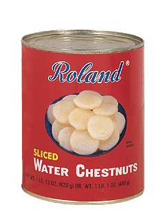 Picture of Water Chestnut - Roland Sliced Water Chestnuts - 29 OZ- Item No.13254