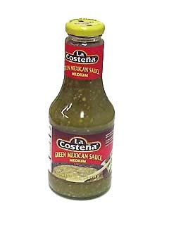 Picture of Salsa Verde - La Costena Green Mexican Sauce 16 oz. - Item No. 1337