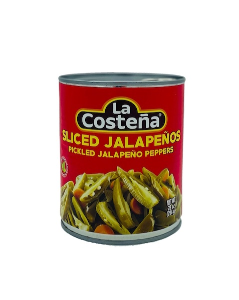 Picture of La Costena Sliced Pickled Jalape�os 28 oz. - Item No. 1340