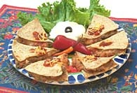 Picture of Easy Quesadillas Mexican Recipe - Item No. 135-easyquesadillas