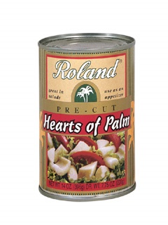 Picture of Hearts of Palm - Roland Pre-cut Hearts of Palm (Palmito)14 oz- Item No.13512