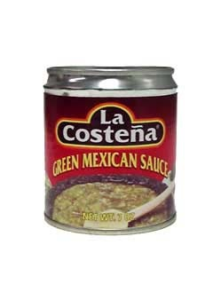 Picture of Salsa Verde - La Costena Green Mexican Sauce 7 oz.&nbsp;- Item No.&nbsp;1352