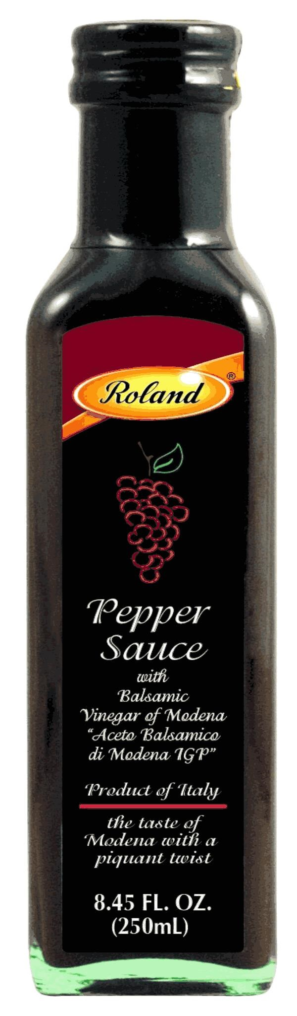 Picture of Balsamic Hot Sauce - Roland Balsamic Hot Pepper Sauce 8.5 oz&nbsp;- Item No.&nbsp;13522