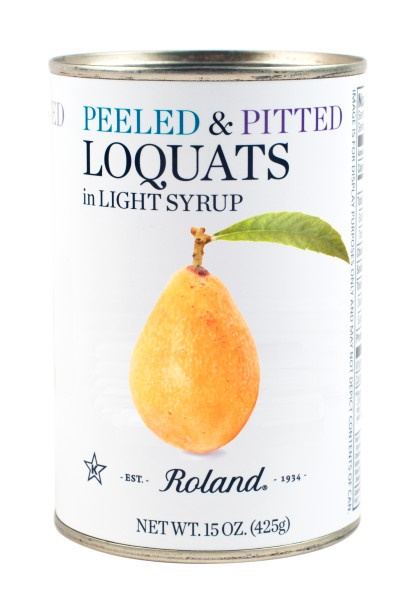 Picture of Loquat - Roland Peeted Loquats in Syrup 15 oz- Item No.13528
