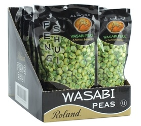 Picture of Roland Feng Shui Hot Wasabi Coated Green Peas 4.4 oz - Item No. 13541