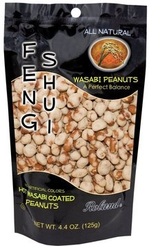 Picture of Roland Feng Shui Wasabi Peanuts 4.4 oz&nbsp;- Item No.&nbsp;13543