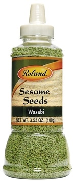 Picture of Roland Wasabi Sesame Seeds 3.5 Oz&nbsp;- Item No.&nbsp;13561