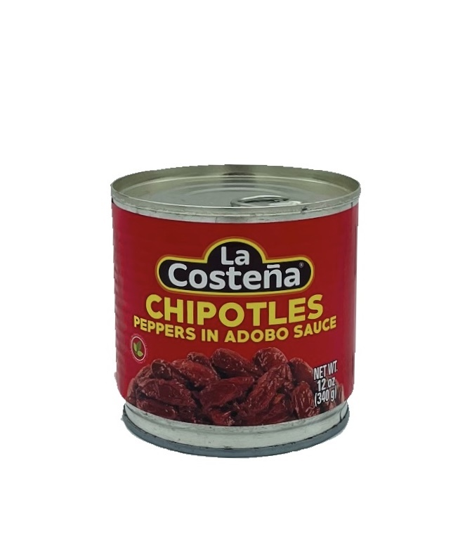 Picture of La Costena Chipotle Peppers in Adobo Sauce 12 oz. - Item No. 1357