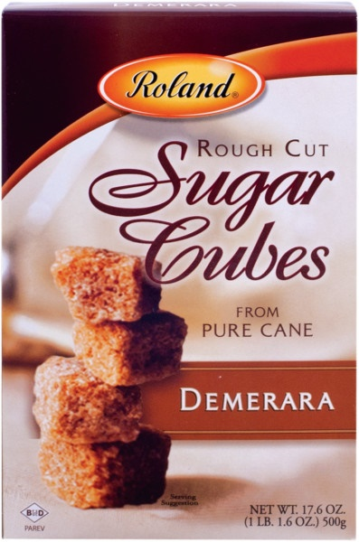 Picture of Sugar, Rough Cut Cubes - Demerara - Item No. 13570