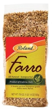 Picture of Roland Farro Semipearled wheat 17.6 oz - Item No. 13571