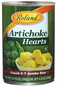 Picture of Roland Artichocke Halves Fres Pack 8.3 oz 4 pack - Item No. 13579