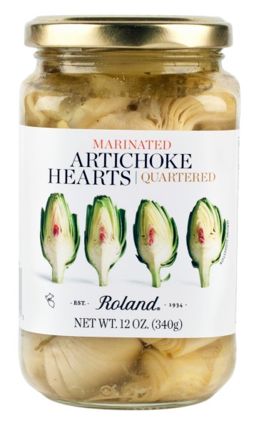 Picture of Marinated & Quartered Artichoke Hearts - Item No. 13583
