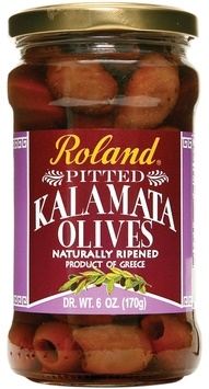 Picture of Pitted Kalamata Olives by Roland 6 oz&nbsp;- Item No.&nbsp;13591