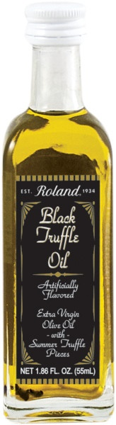 Picture of BlackTruffle Oil - extra virgin olive oil with black truffle 1.86 oz&nbsp;- Item No.&nbsp;13600
