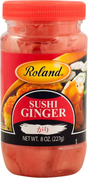Picture of Roland Sushi Ginger 8 oz&nbsp;- Item No.&nbsp;13601