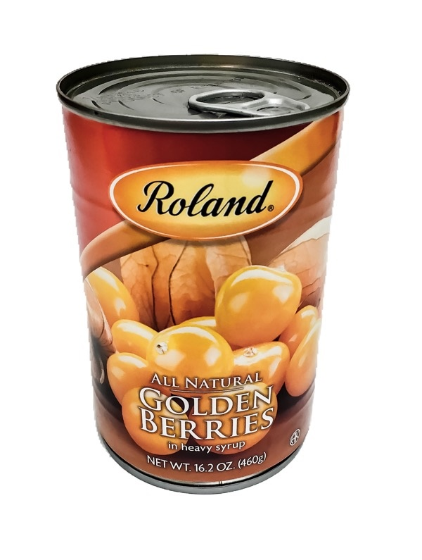 Picture of Roland Golden Berries-Heavy Syrup 16.2 oz - Item No. 13605