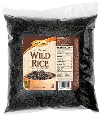 Picture of Roland Fancy Grade A Wild Rice 5 lbs&nbsp;- Item No.&nbsp;13610
