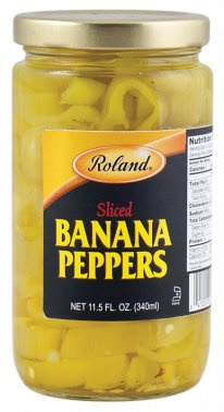 Picture of Roland Sliced Banana Peppers 11.5 oz - Item No. 13617