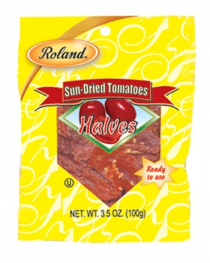 Picture of Roland Sun-Dried Tomatoes Halves (3.5 oz) Pack of 3 - Item No. 13621
