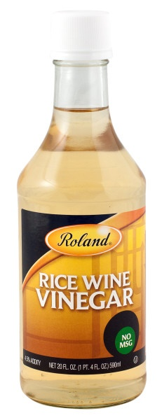 Picture of Roland Rice Wine Vinegar with No MSG 20 fl oz - Item No. 13624