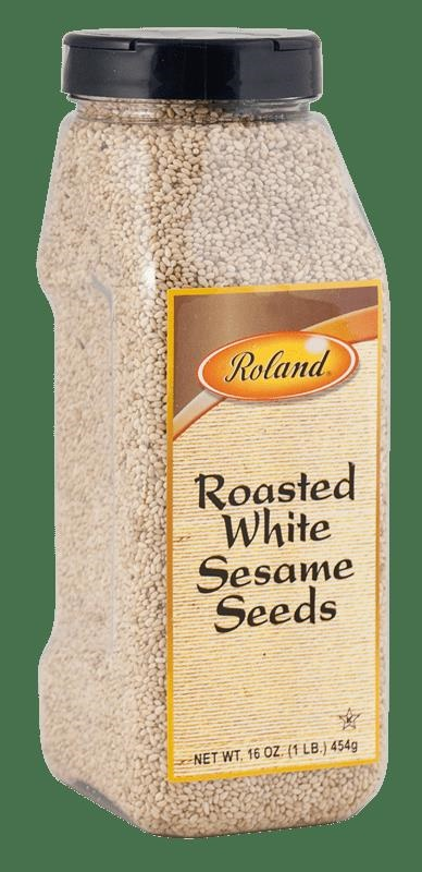 Picture of Roland Roasted White Sesame Seeds 16 oz - Item No. 13636